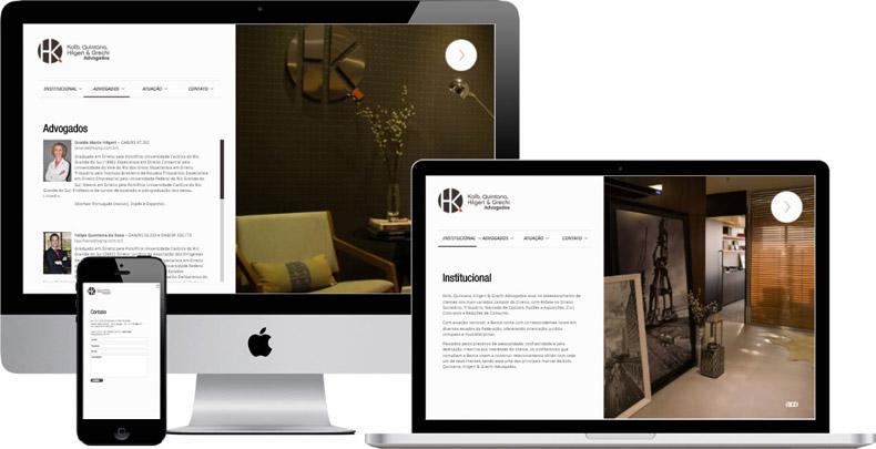 Site profissional em Porto Alegre, RJ e SP