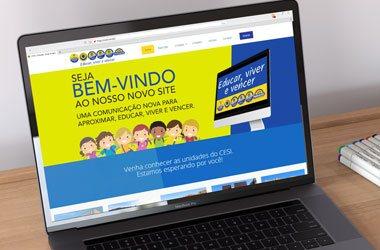 Site de faculdade Facesi Viamão