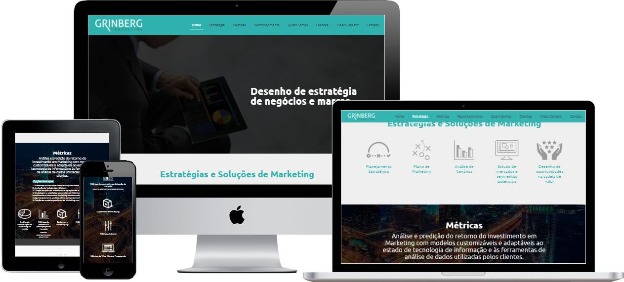 criação de site responsivo