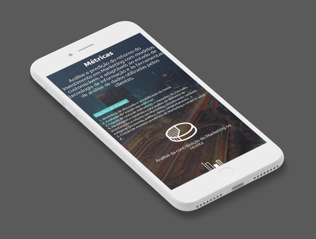 criação de site mobile